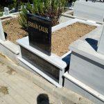 Tek Kişilik Baş Taşı Gövde Granit Mezar Modeli 3