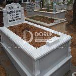 Tek kisilik Sut Beyazi Mermer Mezar