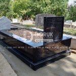 komple parlak granit mezar modeli-9