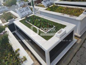 tek kisilik bastasi kitabe granit mezar