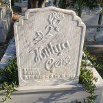 kabartma yazı mermer mezar tasi-13