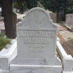 kabartma yazı mermer mezar tasi-18