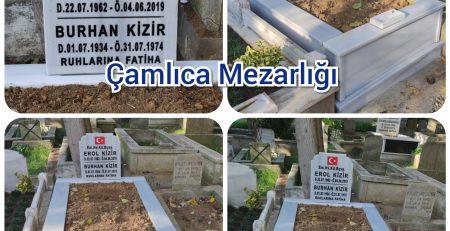 Çakaldağ Çamlıca Mezarlığı Mezar Taşı Yapımı Kizir Ailesi