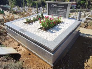 Çift Kişilik Beta Granit Komple 5cm Kalınlıkta Blok Mezar