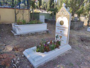 Özel Tasarım Osmanlı Tipi Mezar Modeli