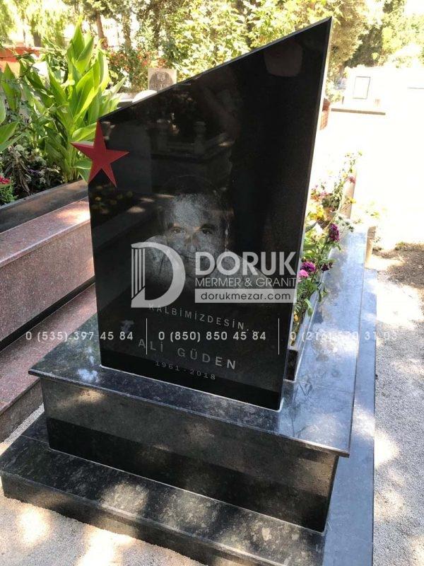 Mezar Taşı Üzerine Lazer Resim 100x60cm