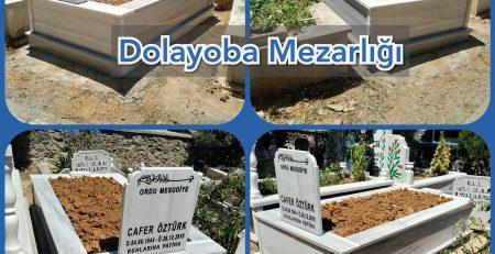 Pendik Dolayoba Mezarlığı Mezar Yapımı Öztürk Ailesi