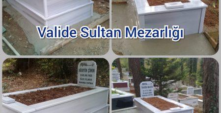 Taşdelen Valide Sultan Mezarlığı Mezar Taşı Yapımı Maden Ailesi
