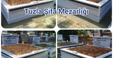 Tuzla Şifa Mezarlığı Mezar Yapımı Temur Ailesi